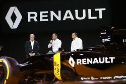 Jérôme Stoll, Président de Renault Sport Racing avec Cyril Abiteboul, Directeur Général de Renault Sport Racing et Frédéric Vasseur, Directeur de la Compétition Renault Sport F1 Team