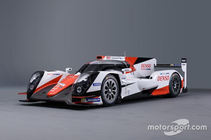 Nueva presentación para el auto Toyota LMP1