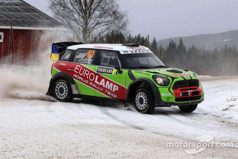 Valeriy Gorban, Volodymyr Korsia, Mini John Cooper Works WRC