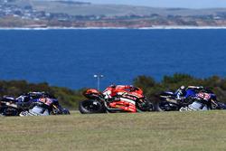 Alex Lowes, Pata Yamaha, Chaz Davies, Aruba.it Racing - Ducati Team, Sylvain Guintoli, Pata Yamaha
