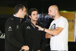 Cyril Abiteboul, Renault Sport F1 Team Managing Director with Gerard Lopez