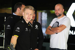 Kevin Magnussen, Renault Sport F1 Team avec Gérard Lopez