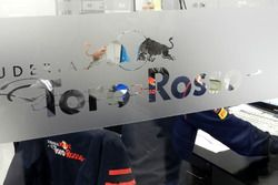 Office in the Scuderia Toro Rosso workshop