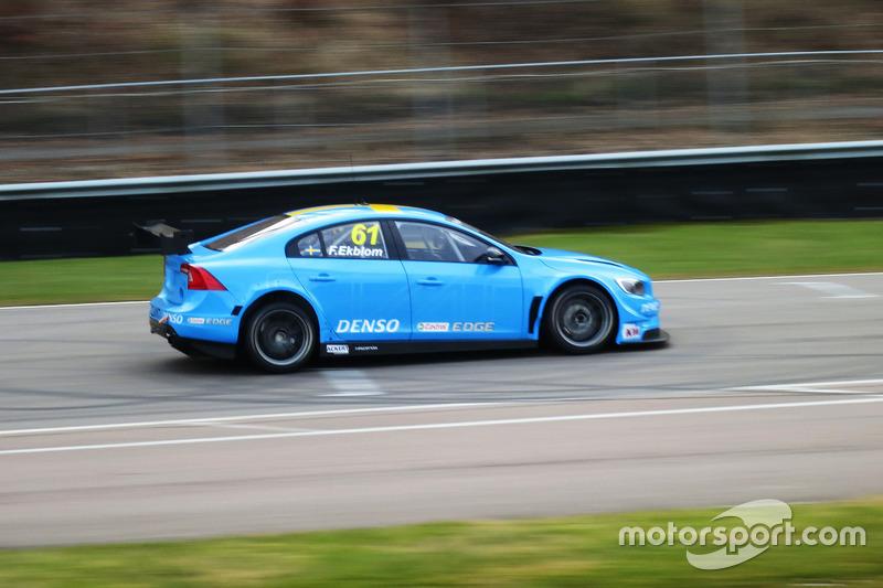 Fredrik Ekblom, Polestar Cyan Racing Volvo S60 TC1