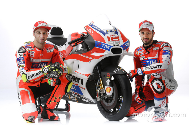 2016: Desmosedici GP15 (Андреа Янноне и Андреа Довициозо)