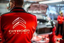 Le parc d'assistance Citroën World Rally