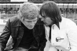 Bernie Ecclestone, propriétaire de Brabham avec Max Mosley, manager de March Engineering