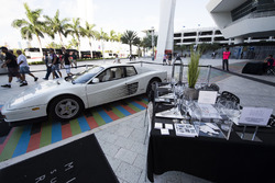 Miami Supercar display in the fan area