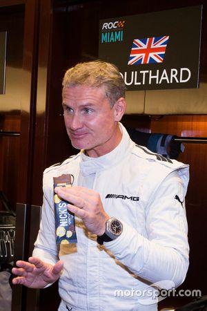 David Coulthard, backstage