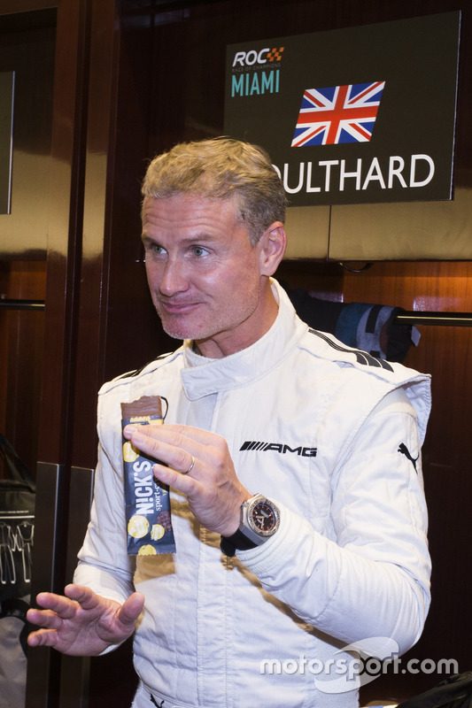 David Coulthard, backstage