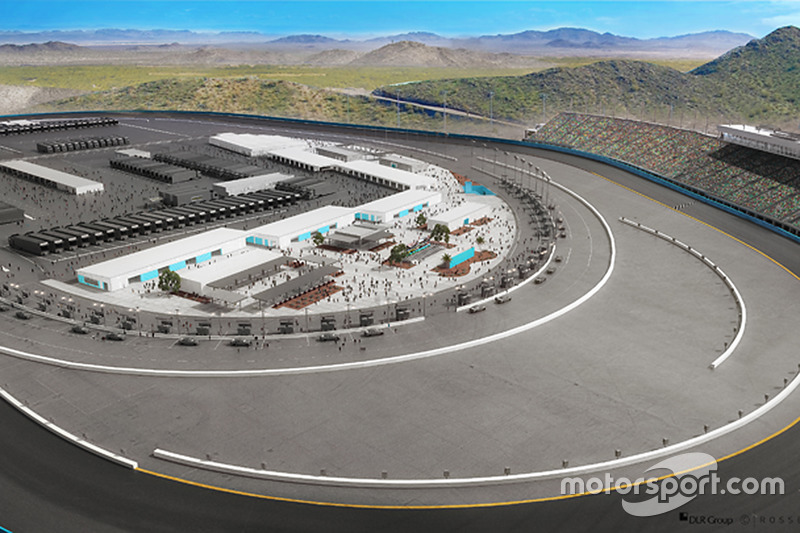 Cambios propuestos para el Phoenix International Raceway y su Fanzone