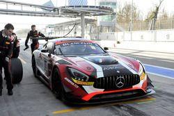 Ludovic Badey, Alex Fontana, Daniele Perfetti, Mercedes AMG-GT3, AKKA ASP