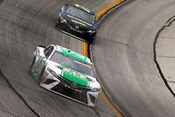 Corey LaJoie, BK Racing Toyota, Erik Jones, Furniture Row Racing Toyota