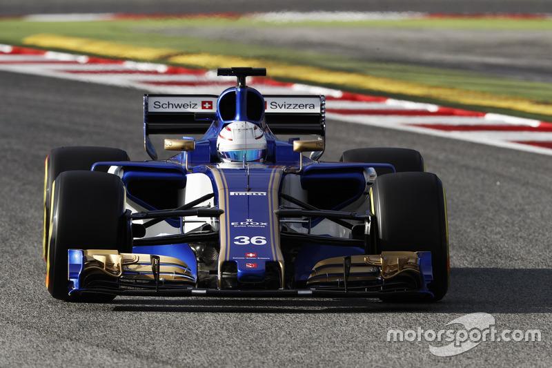 14: Antonio Giovinazzi, Sauber C36, 1:22.401, ultrasofts, day 4 (151 laps)