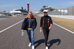 Pierre Gasly, Team Mugen, Felix Rosenqvist, Team LeMans