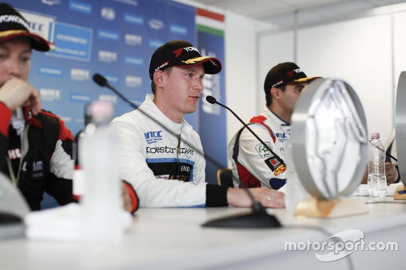 Persconferentie, Nicky Catsburg, Polestar Cyan Racing, Volvo S60 Polestar TC1