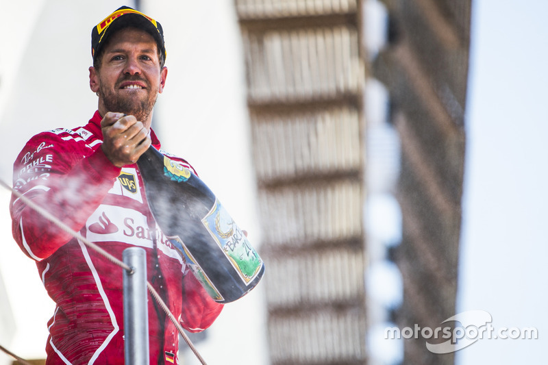 5. GP de España 2017: Sebastian Vettel (2º)