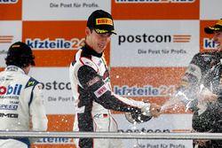 Podium: #99 Precote Herberth Motorsport, Porsche 911 GT3 R: Sven Müller