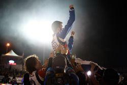 Race winner James Deane