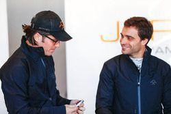 Jay Penske mit Jérôme d'Ambrosio, Dragon Racing