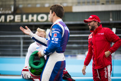 Felix Rosenqvist, Mahindra Racing, Antonio Felix da Costa, Amlin Andretti Autosport and Nick Heidfel