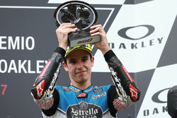 Podium: third place Alex Marquez, Marc VDS race
