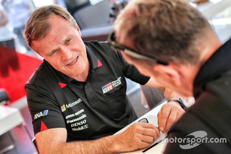 Tommi Mäkinen, Team principal Toyota Racing WRC