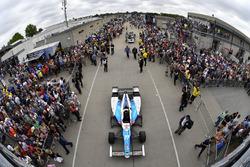 Jay Howard, Schmidt Peterson Motorsports Honda Gasoline Alley