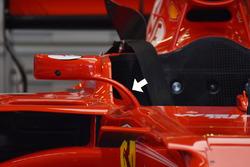 Rétroviseurs de la Ferrari SF70H