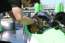 #26 BAR1 Motorsports Oreca FLM09: Gustavo Yacaman