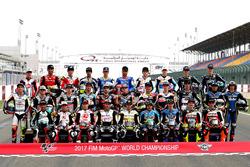 Moto2 rider line up