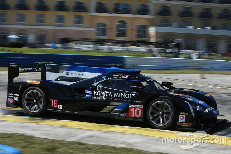 1. P: #10 Wayne Taylor Racing, Cadillac DPi