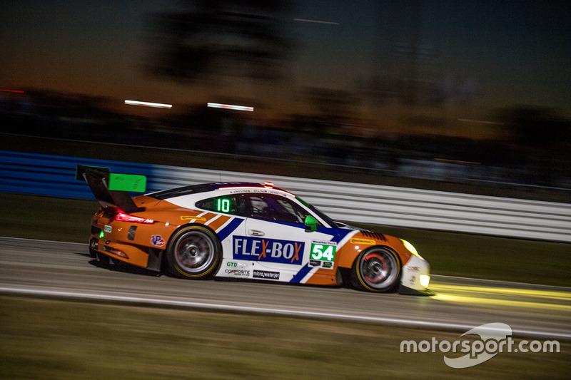 16. GTD: #54 CORE Autosport, Porsche 911 GT3R - Ausfall