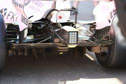Force India VJM10: Diffusor