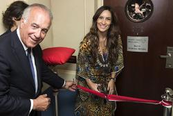 Bianca Senna bei der Eröffnung der Suite