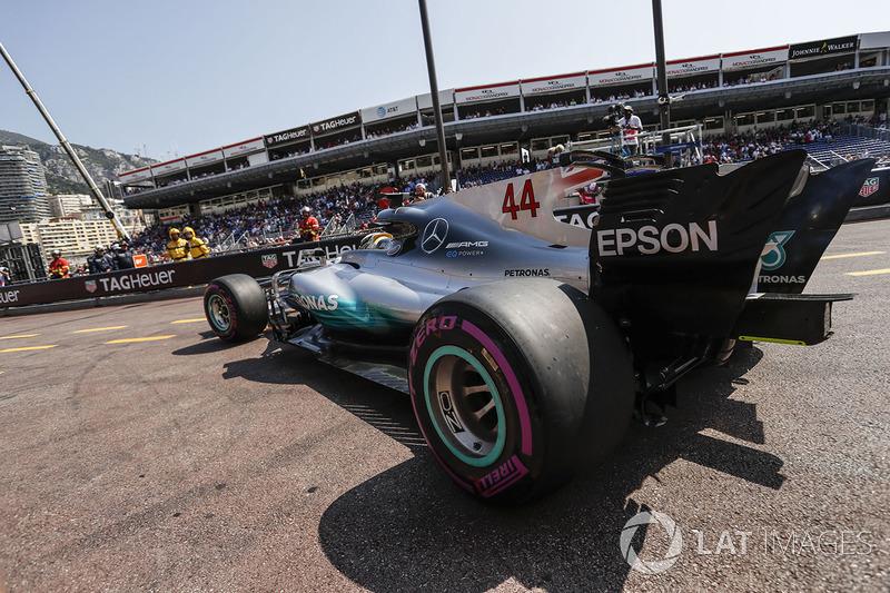 Льюис Хэмилтон, Mercedes W08