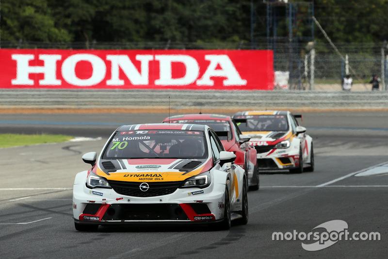 De Opel Astra TCR