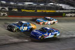 Daniel Suárez, Joe Gibbs Racing Toyota, Elliott Sadler, JR Motorsports Chevrolet, Kyle Busch, Joe Gibbs Racing Toyota