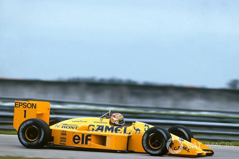 Нельсон Пике, Lotus 100T Honda (3 подиума)