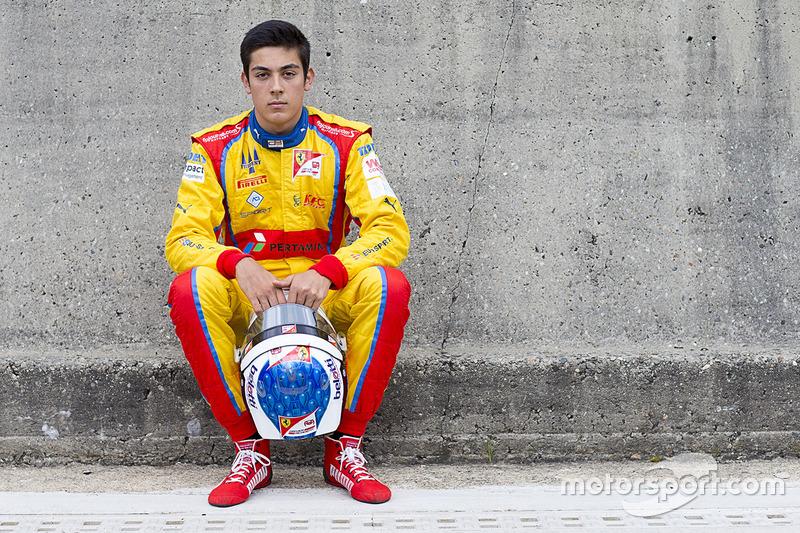 Джулиано Алези (18 лет)
