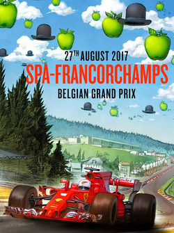 Постер Ferrari