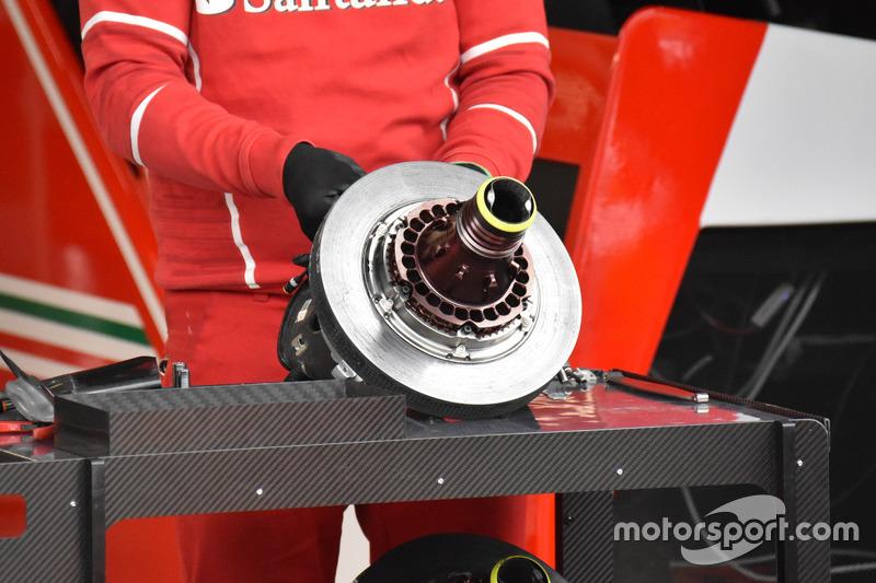 Disco del freno della Ferrari SF70H