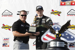 Podium: second place Josef Newgarden, Team Penske Chevrolet