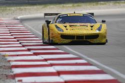 #31 TR3 Racing Ferrari 488 GT3: Daniel Mancinelli,, Niccolo Schiro