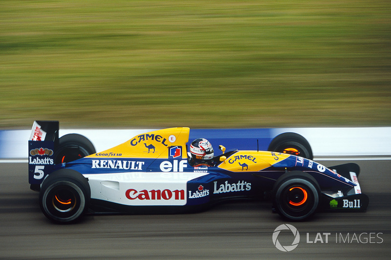 #10: Williams FW14B (1992)