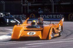 1971 McLaren M8F Can-Am car in a support race
