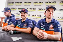 Alex Doringer, Red Bull KTM Factory Racing; Sam Sunderland, Red Bull KTM Factory Racing; Matthias Wa