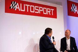 Zak Brown, président Motorsport Network et Toby Moody