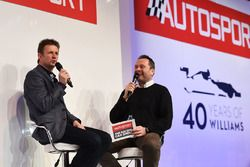 Allan McNish talks to Henry Hope-Frost on the Autosport Stage