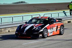#44 MP1B Porsche GT4 Clubsport driven by Bill Handler of P1 Motorsports